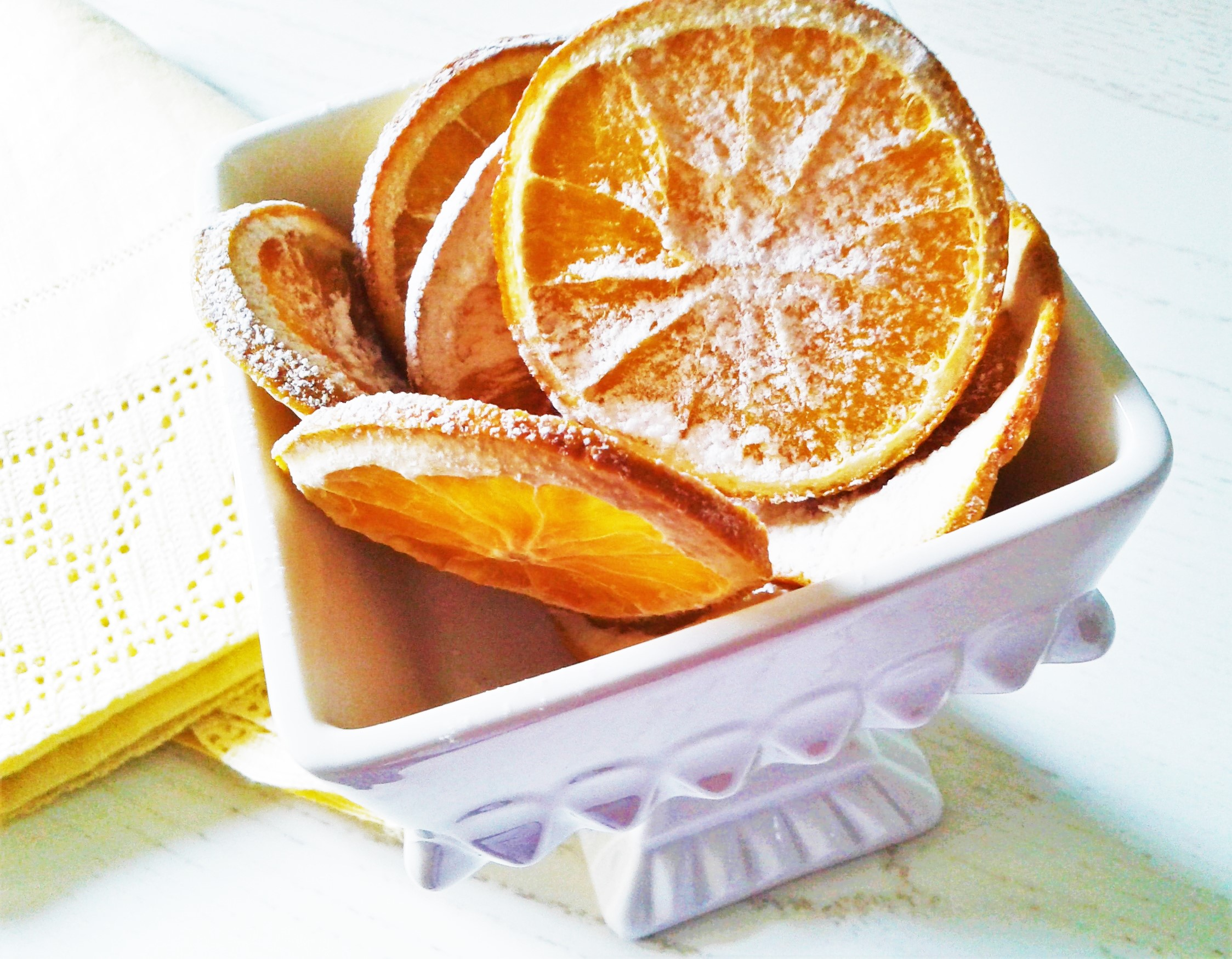 Chips di arance
