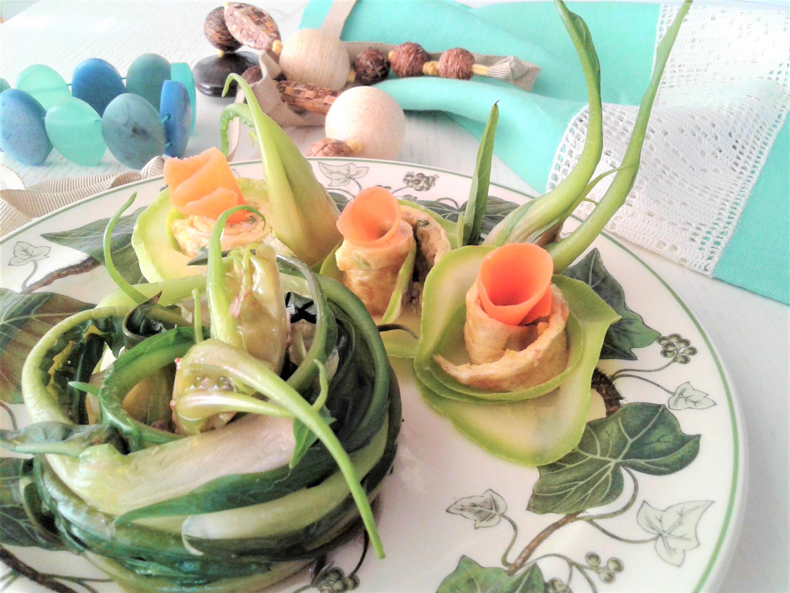 """puntarelle scottate con salsina alle acciughe per """"Frida"""""""