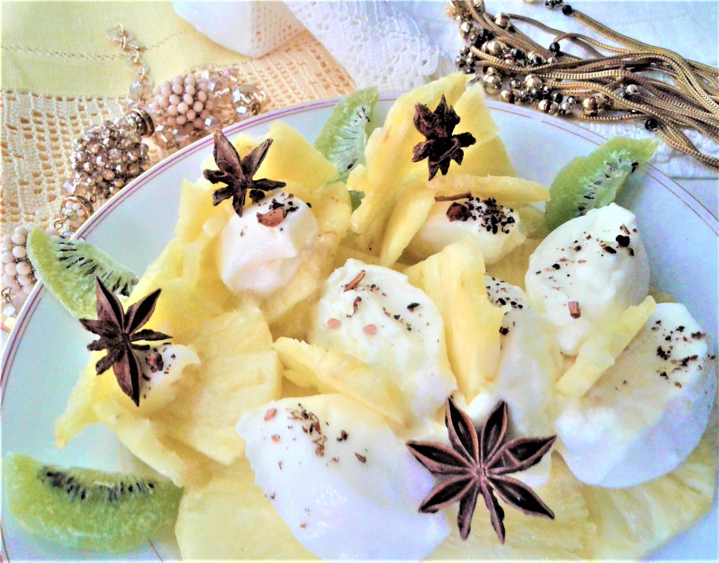 ananas e mascarpone